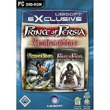 Prince of Persia the Sands of Time + Warrior Within NUOVO