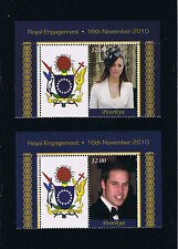 Aitutaki Royal Engagement Singles Set with Labels