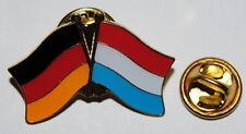 FREUNDSCHAFTSPIN 0095 PIN ANSTECKER DEUTSCHLAND / LUXEMBURG FAHNE METALL NEU