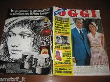 OGGI 1972/46=LAUREN BACALL=ELGA ANDERSEN=MINO REITANO=MIA FARROW=MARISA BARTOLI=