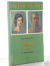 Adrian Hill - Faces & Figures 1st Edition 1962 h/b d/j