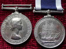 Replica Copy QEII Royal Navy Long Service Good Conduct Medal  full size
