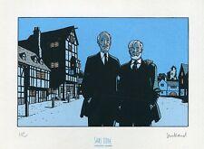 Ex-Libris Juillard - Blake et Mortimer