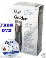 Oster GOLDEN A5 Professional 220v Clipper Single Speed 133905 Cryogen 78005-010