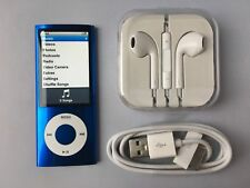 Apple iPod nano 5th Generation Blue (8GB) mint