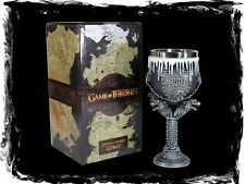 Game of Thrones Kelch - Haus Stark - GoT Geschenkbox Fantasy Weinglas Geschenk