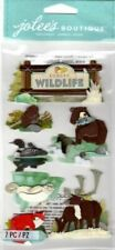 Jolee's Forest Wildlife Scrapbook Stickers Nip 50-50733