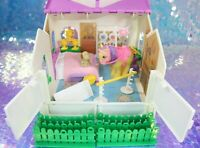 Vintage My Little Pony SHOW STABLE Playset LEMON DROP and Dog BRANDY G1 MLP Z042