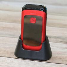 Unlock Flip Senior Mobile Phone Dual Sim Magic Voice Torch Speed Dial Cellphone