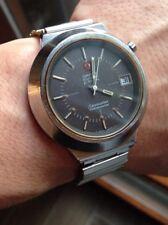 Vintage Omega 1250 Seamaster F 300 Diapason Watch Montre Orologio Esa 9162 CONE