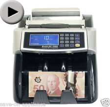NEW Polymer &Paper Canadian Currency Bill Counter Plastic Money CAD USD Banknote