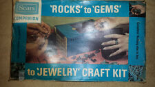 Vintage Sears Gem Rock Polisher Tumbler Tumbling most materials are still there