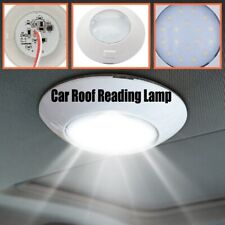 Switch Control Round Interior 24LED Light Car Roof Reading Ceiling Lamp Durable
