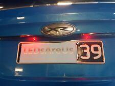 Subaru Toyota 86 Red LED License Number Plate Lights FT86 Scion FR-S FRS BRZ