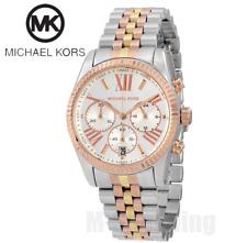 Michael Kors MK5735 Women's Lexington Chronograph Tri-Tone Watch