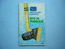 1973/74 VANCOUVER CANUCKS NHL HOCKEY MEDIA GUIDE YEARBOOK BOB DAILEY ROOKIE NICE