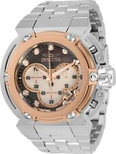 Invicta Mens 46mm X-Wing Coalition Force Rose-Gold MOP Dial SS Bracelet Watch
