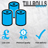 80 Rolls - 57 x 57 mm Thermal Till Rolls PDQ CREDIT CARD - Fast & Free Delivery!
