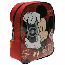 DISNEY sac à dos MICKEY rouge  école  L 25 x H 32 x P 10 cm neuf