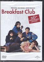 Dvd  BREAKFAST CLUB 30th anniversary edition nuovo sigillato 1985