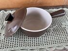 Le Creuset Brown #14 Saucepan Pot Enameled Cast Iron from France