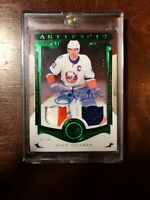John Tavares 2015-16 Artifacts Emerald Jersey Patch Autograph /8