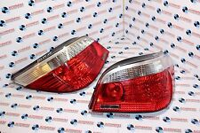 BMW 5 SERIES E60 REAR LIGHTS DRIVER PASSENGER SIDE REAR TAIL LIGHTS
