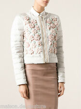 $2372 FAY GRAY FLOWER EMBRODERED MULTICOLOR WOMEN SHORT SPRING JACKET SMALL