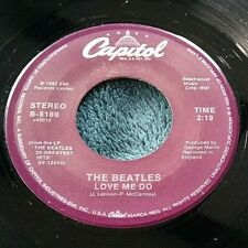 The Beatles Love Me Do/P.S I Love You 45 Capitol B-5189 purple Strong VG+