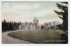 KIPPEN HOUSE, DUNNING: Perthshire postcard (C24291)