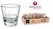 Borgonovo 350ml Conical Double Old Fashioned drinking glasses tumblers cocktail