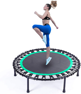 """KOKSRY 40"""" Mini Trampoline, Fitness Trampoline, Stable & Quiet Exercise Rebounde"""