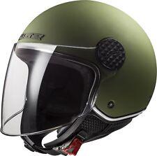 1601909-ls2 Casco Moto Of558 Sphere Lux Matt Military Verde L