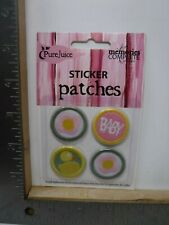 Pure Juice Baby Girl Sticker Patches Embroidered Fabric Embellishment New A18524
