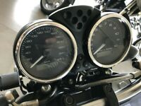 Ducati Monster 695  Chrome Dial Surrounds Gauge Rings Polished Alloy New Set x2