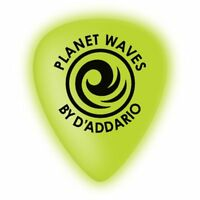 Planet Waves Cellu-Glow Guitar Picks, Medium, 100 pack