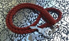 ID-Badge/Neck-knife/Go-pro(LICORICE & RED-DIAMONDS)550 paracord lanyard/Nite-Ize