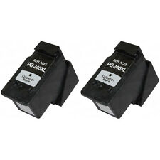 2 Pack for Canon PG-240XL Ink Cartridge for PIXMA MG2220 MG3222 MX372 MX452