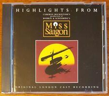 Miss Saigon Highlights - Original London Cast - Buy 1 CD Get Up To 10 Half Price
