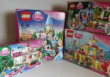 Lego Disney Princess Lot 41055 41052 41063 41053 Cinderella Aerial Little Mermai
