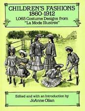 """Children's Fashions, 1860–1912: 1,065 Costume Designs from """"La Mode Illustree"""""""