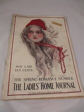 Vintage May 1911 The Ladies Home Journal Magazine Romance  Harrison Fisher covr