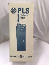 Ge Walkie Talkie Handheld Portable Two Way Radio Plsh05 Ericsson Vhf Brand New