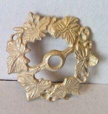 "2 5/8"" Cast Brass Unfinished Flower Gas Shade Globe Holder Repair Refurbish"