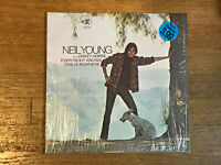 Neil Young LP in Shrink - Everybody Knows This is Nowhere - Reprise RS 6349