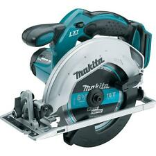 Makita 18-Volt Lithium-Ion Teal Cordless Circular Saw (Tool-Only) Spindle Lock