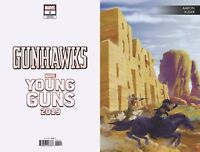 Gunhawks #1 Black Panther Variant Marvel Comics Young Guns 1st Print 2019 NM