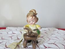 Josef Original Figurine Mud Pies Orig Tag