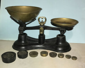 Old Fashioned kitchen Balance weighing scales