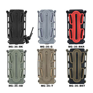 Soft Shell Scorpion 9mm Rifle / Pistol Mag Carrier Magzine Pouch Magazine Holder